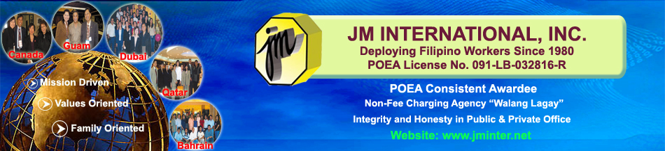 JM INTERNATIONAL, INC.